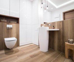 Feuchtraumpaneele in weiß oder Holz