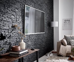 innenwandverkleidung eine wandverkleidung anbringen. Black Bedroom Furniture Sets. Home Design Ideas
