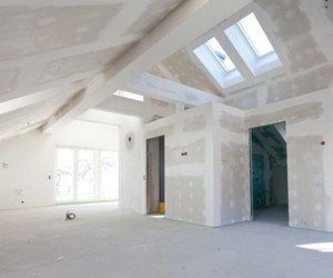 gipskartonplatten verputzen anleitung grundierung bis streichen. Black Bedroom Furniture Sets. Home Design Ideas